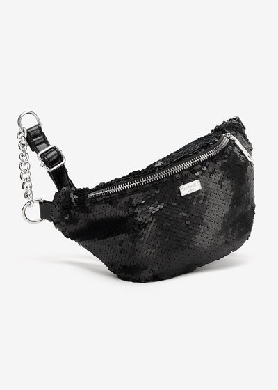 Myrl bumbag with matte sequins