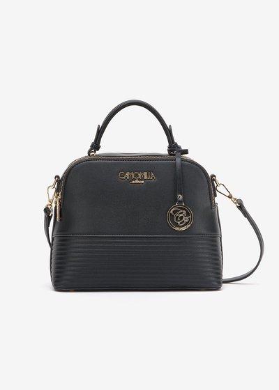 Bryth mini Boston bag with shoulder strap