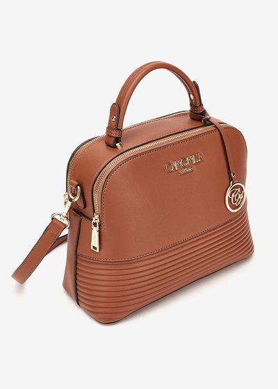 Bryth mini Boston bag with shoulder strap