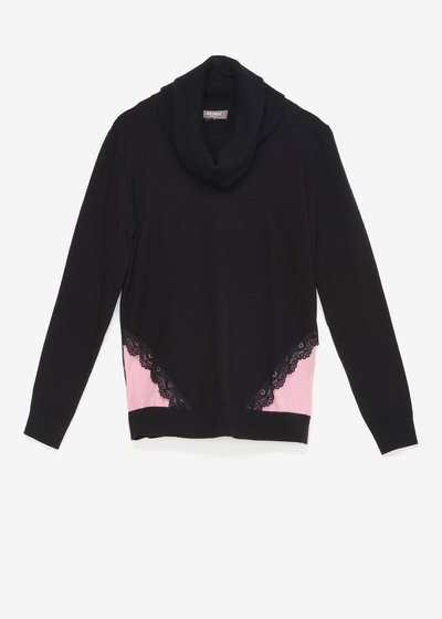 Macy two-tone sweater