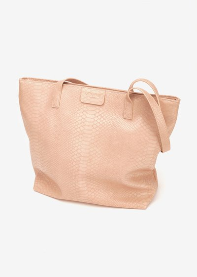 Shopping bag Badia stampa pitone