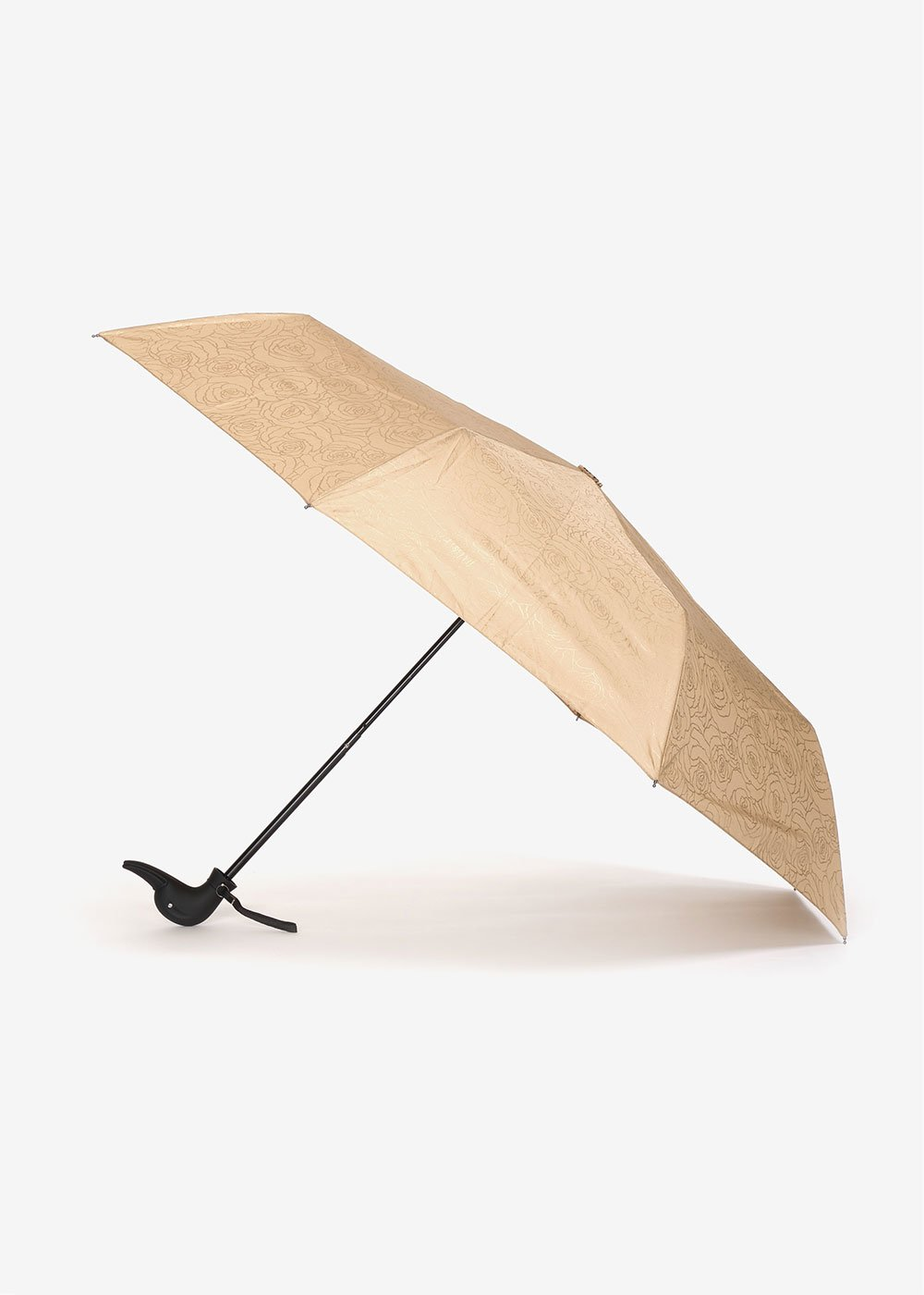 Rose gold print umbrella - Doeskin Gold - Woman