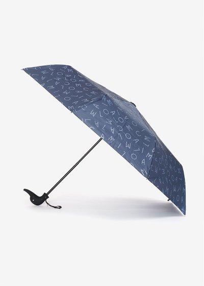 Glitter logomania umbrella