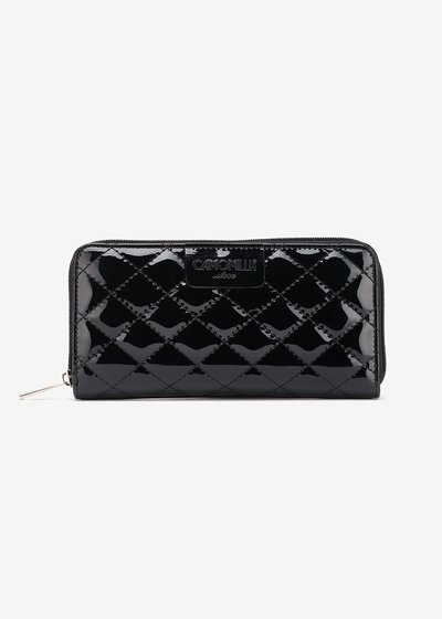 Pick quilted wallet