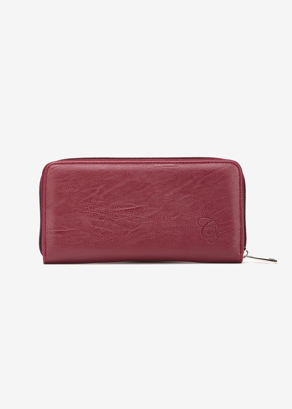 Pick used-effect wallet - Purple - Woman