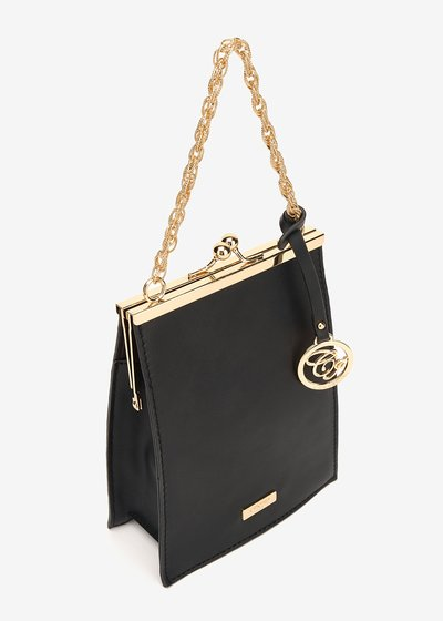 Becky clutch bag with click clac closure