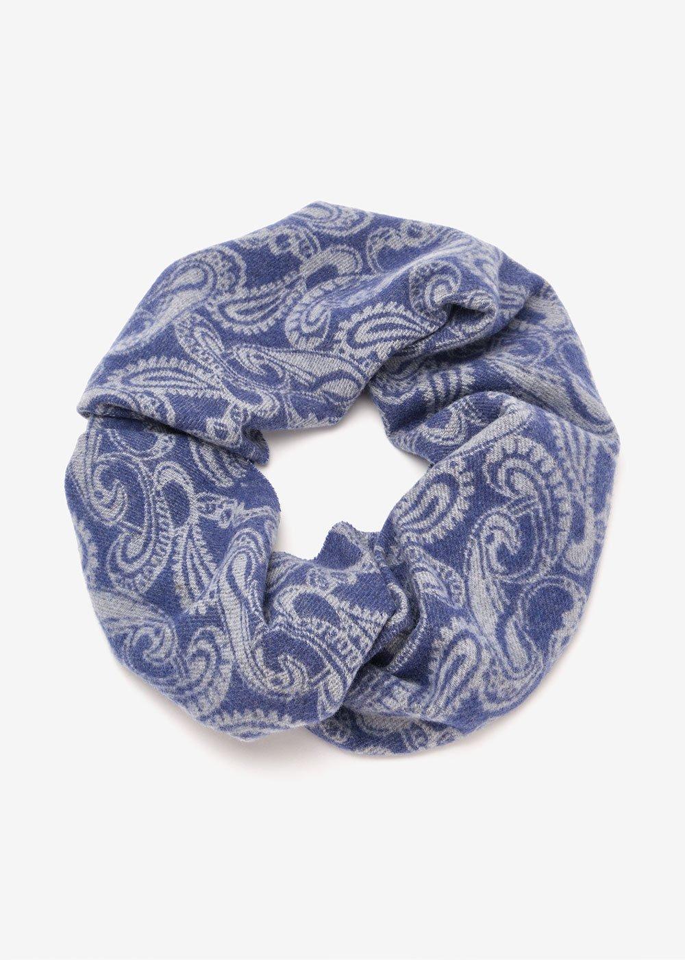 Shirly patterned scarf - Avion Elefante Fantasia - Woman