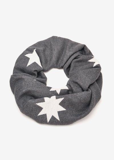 Suellen viscose scarf with stars
