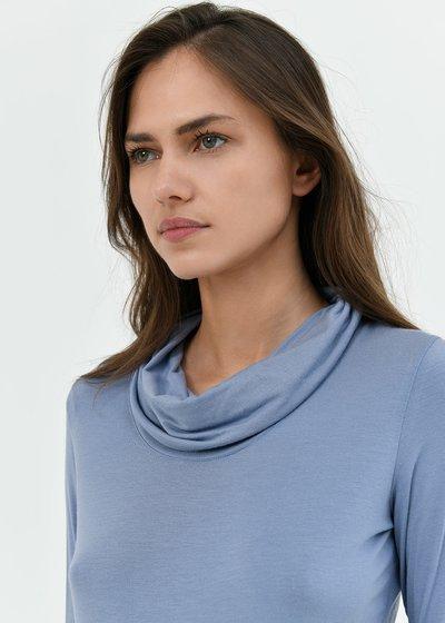 T-shirt Simy con collo ad anello