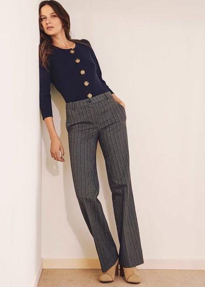 Miriam cardigan-effect sweater