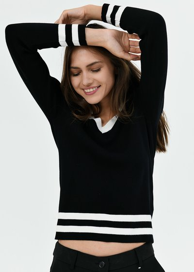 Michelle sweater with collar