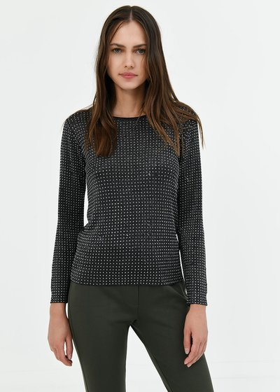 Moira lurex viscose sweater