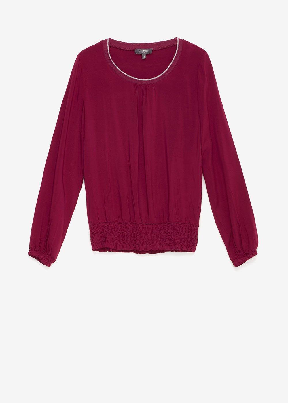 T-shirt Samantha scollo tondo - Rosee' - Donna