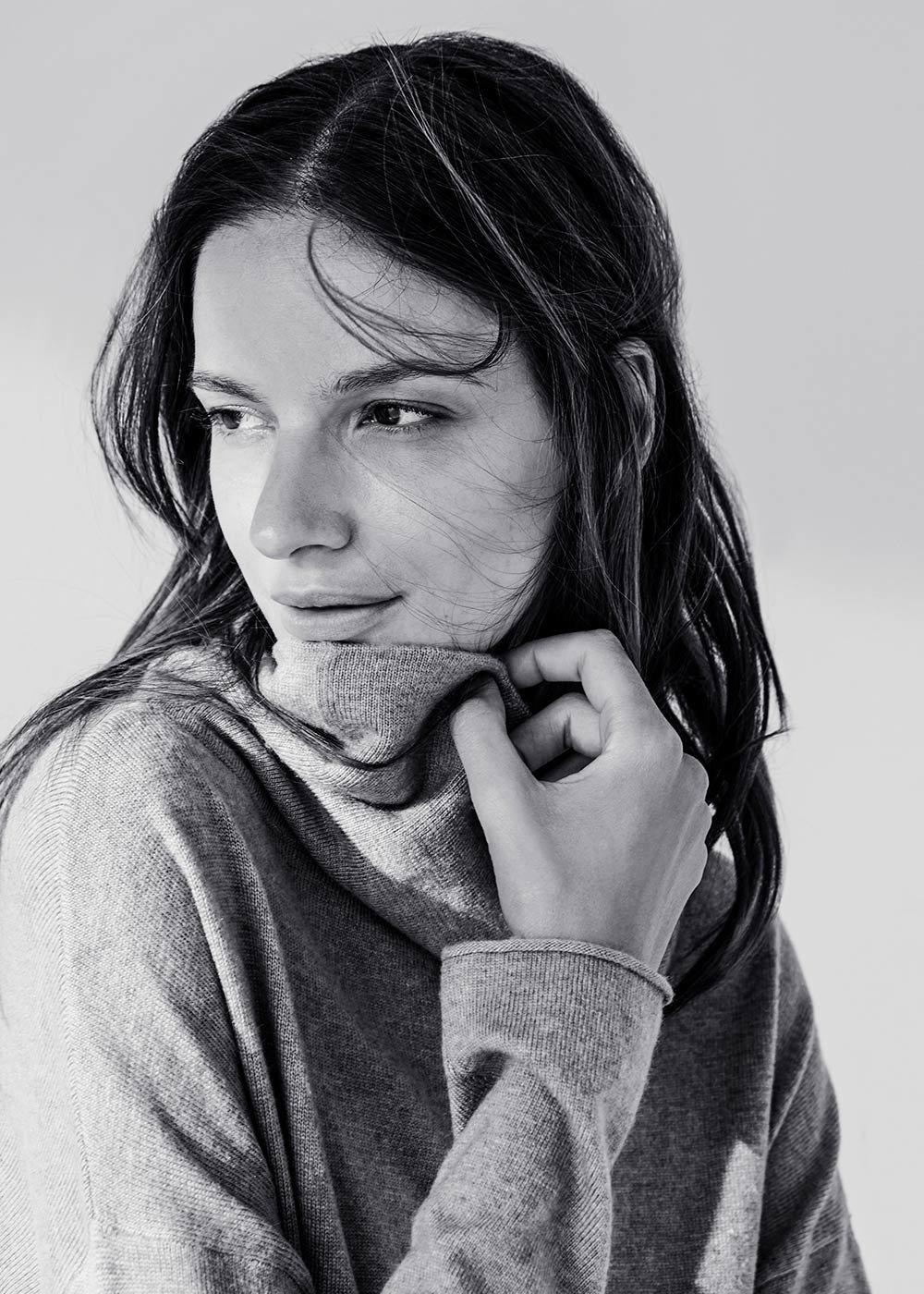 Medea turtleneck sweater - Doeskin - Woman