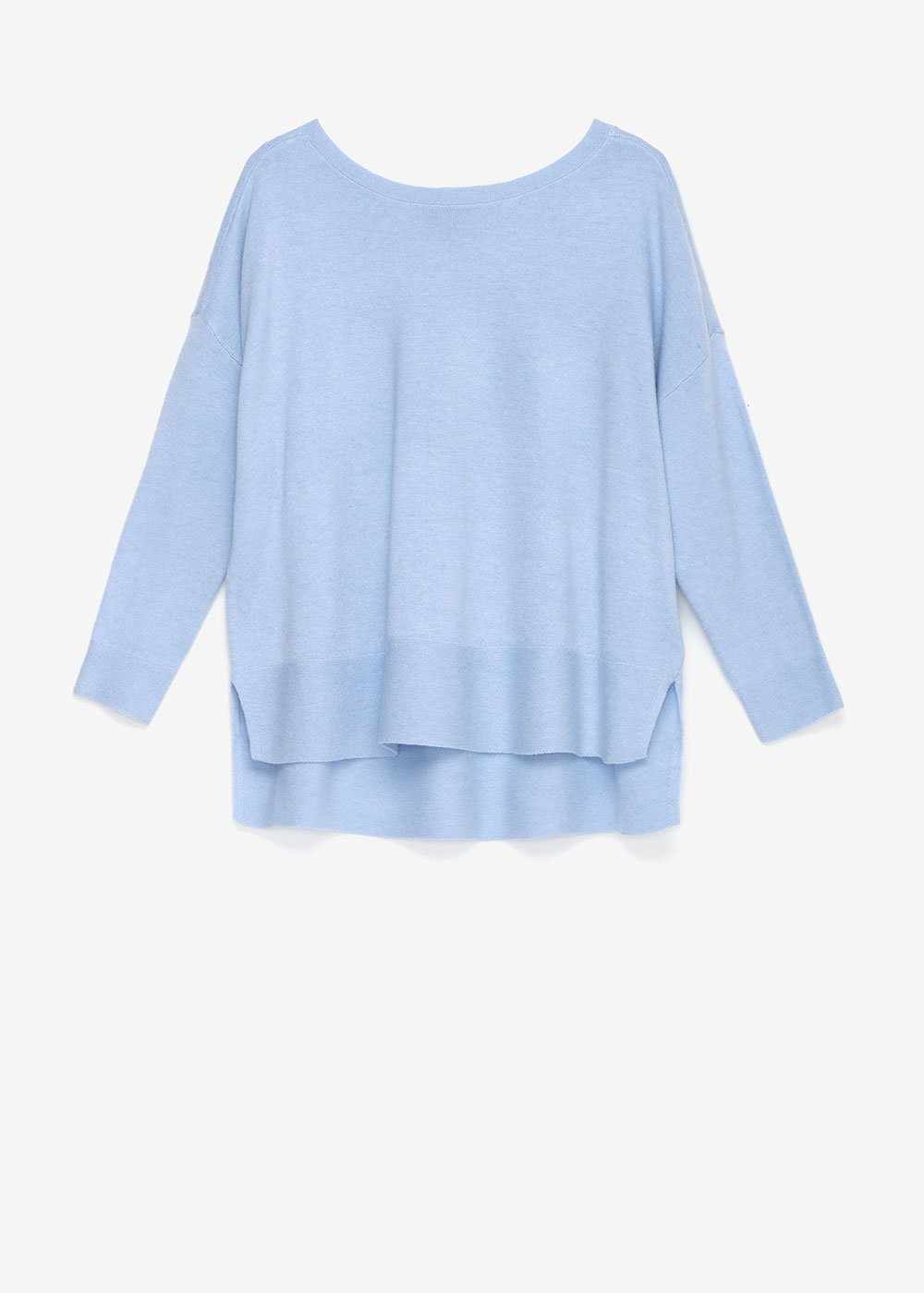 Medel asymmetric sweater - Fog - Woman