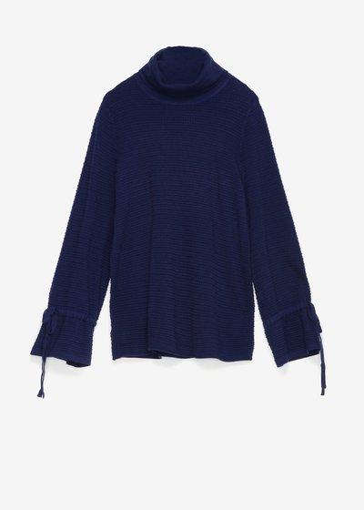 Moniq sweater with cowl neck