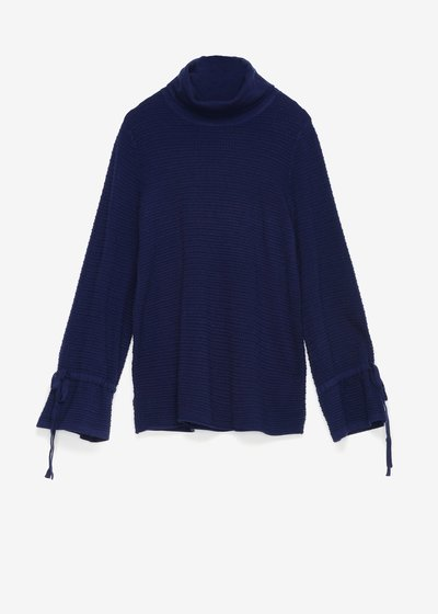 Moniq sweater with cowl neck