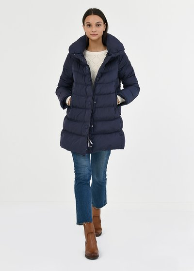 Pilar down jacket with detachable hood