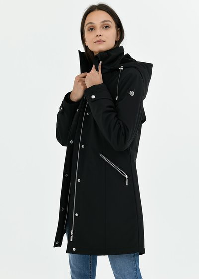 Peter down jacket in technical fabric