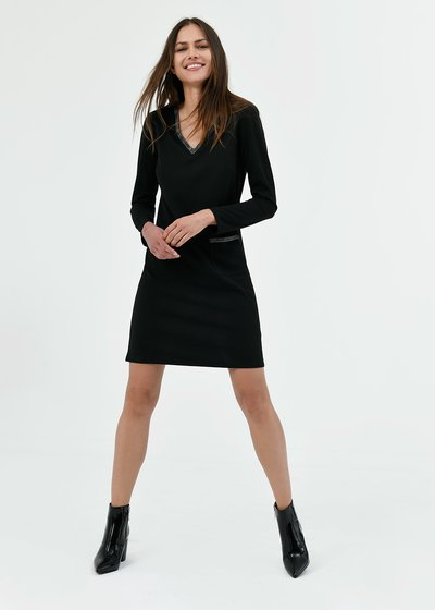 Athos v-neck dress