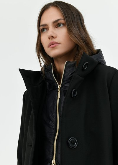 Carlin padded coat with hood