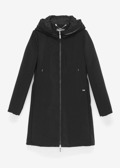 Caril coat with a sporty cut