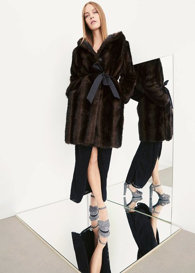 Pedro reversible fur coat