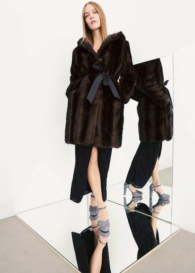 Pedro reversible fur coat