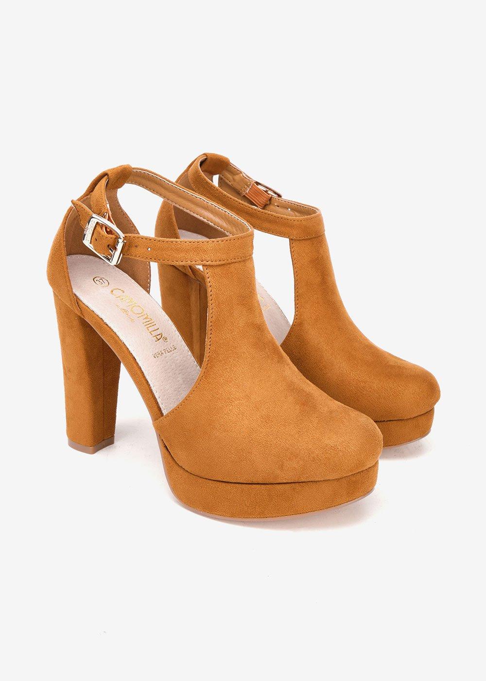 Steila semi-opened shoe - Brown - Woman