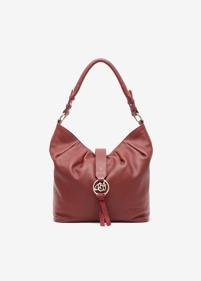 Shopping bag Brenda in vera pelle