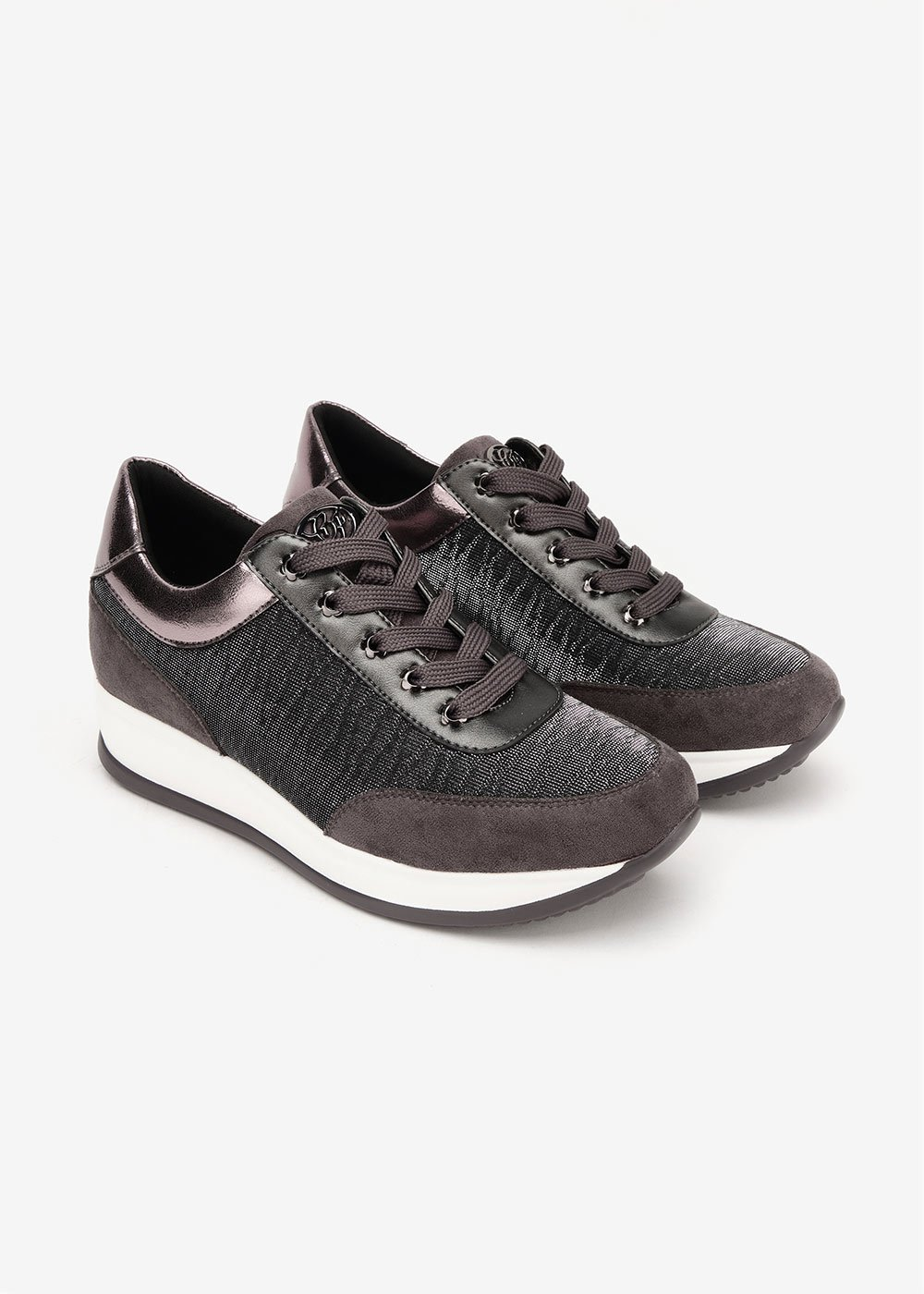 Shirl sneakers in mesh fabric - Brown - Woman
