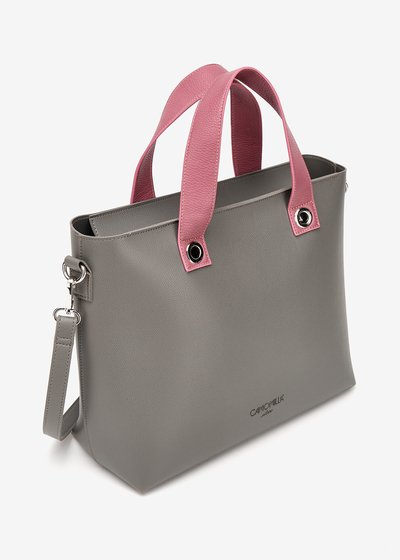 Shopping bag Bessie bicolor