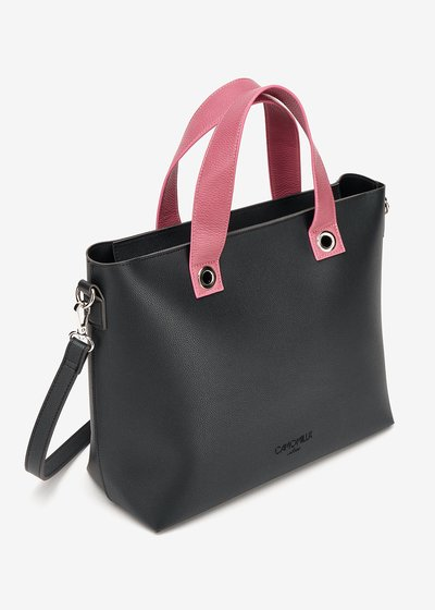 Bessie two-tone shopping bag