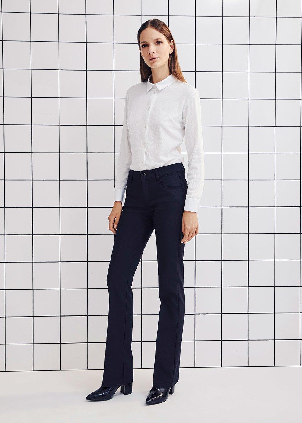 Carola cotton shirt - White - Woman
