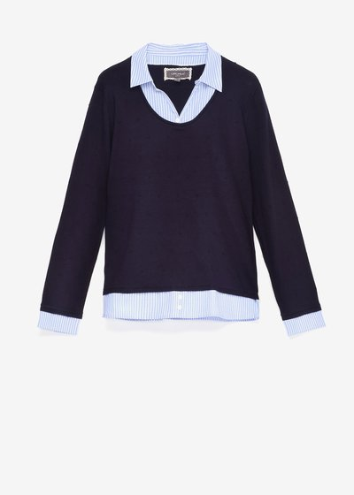 Maggy two-in-one sweater