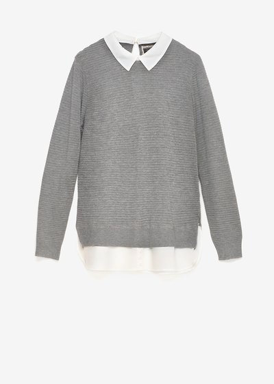 Marika two-in-one sweater