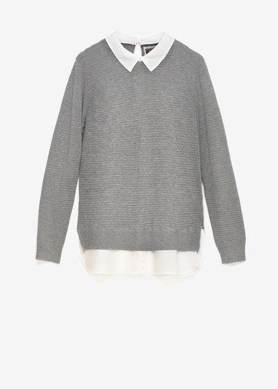 Marika two-in-one sweater
