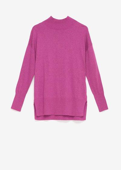 Melania high-necked sweater