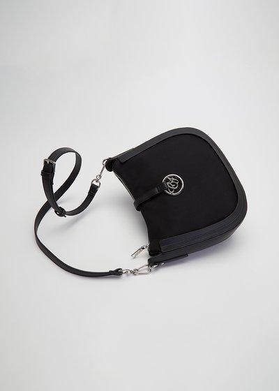 Bachou shoulder bag with clip closure