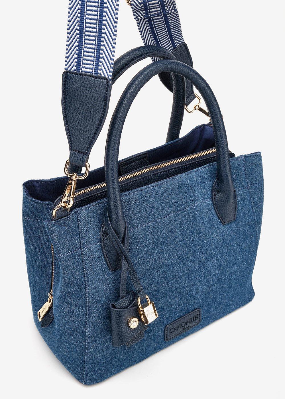 Berty denim bag - Blue - Woman