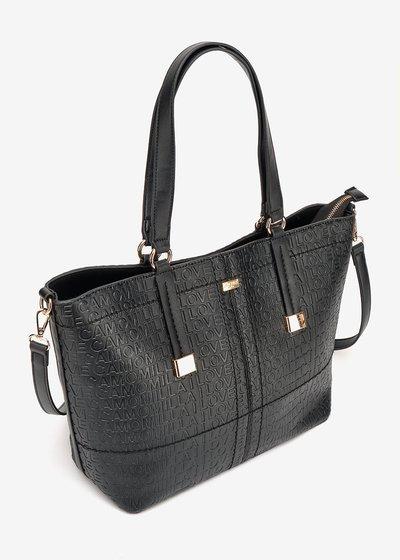 Shopping Bag Berry Logomania
