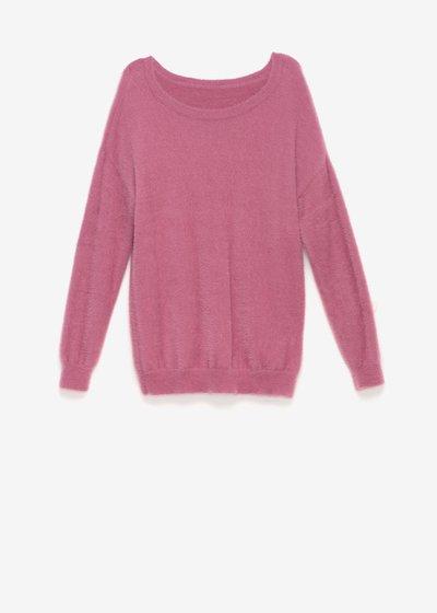 Micael fur-effect sweater