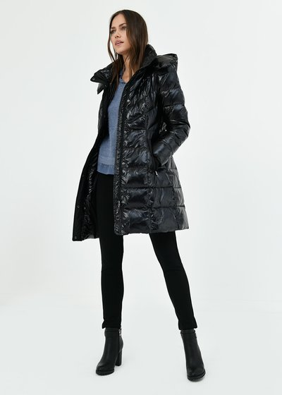 Prince down jacket in technical fabric