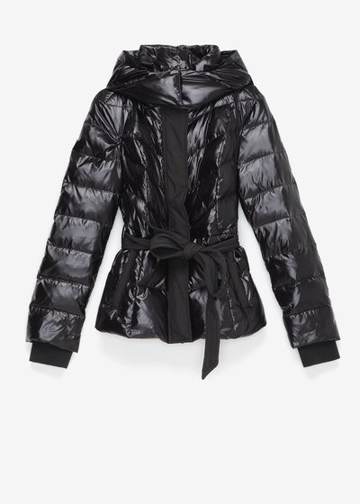 Python down jacket in technical fabric