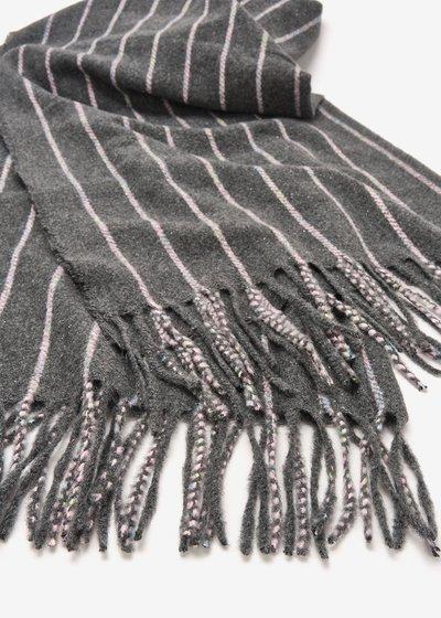 Sael striped scarf