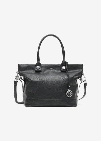Shopping bag Breann in eco pelle