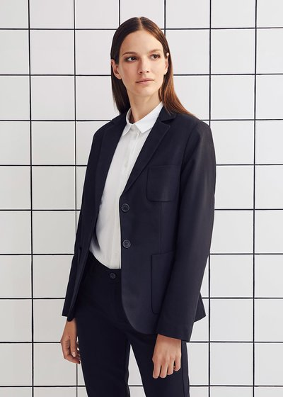 Kelly jacket in technical fabric