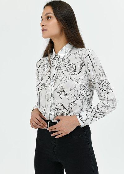 Camicia modello Alessia fantasia