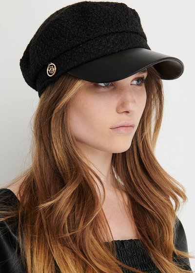 Criss Curl hat with visor