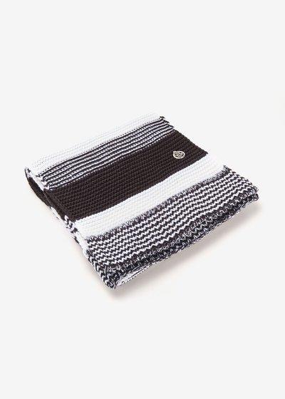 Sciarpa Sharen bi color black&white